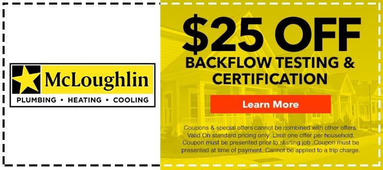Coupons & Specials - McLoughlin Plumbing Heating & Cooling