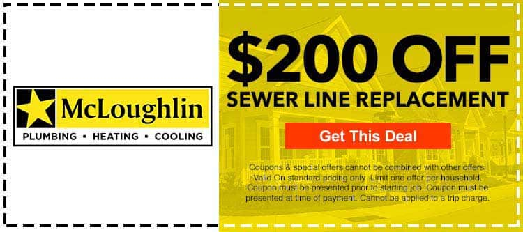 discount on sewer line repair