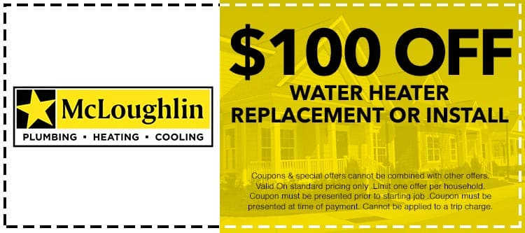 discount on water heater repair services