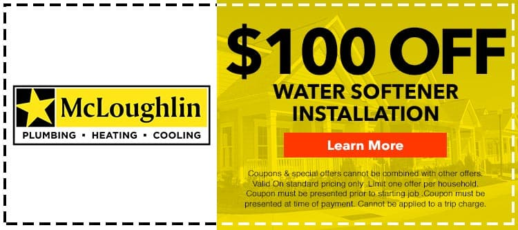 discount on water softener installation services