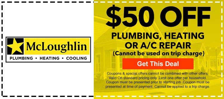 discount on Plumbing, Heating or A/C Repair