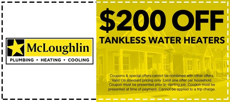 discount on Tankless Water Heaters